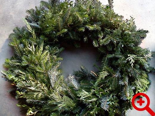 Evergreen Christmas.Christmas Wreaths Evergreen Christmas Tree Farm
